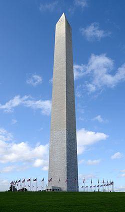 Washington Anıtı resmen açıldı. tarihte bugün