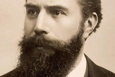 Wilhelm Conrad Röntgen, Nobel Fizik Ödülü sahibi, Alman fizikçi (ÖY-1923) tarihte bugün
