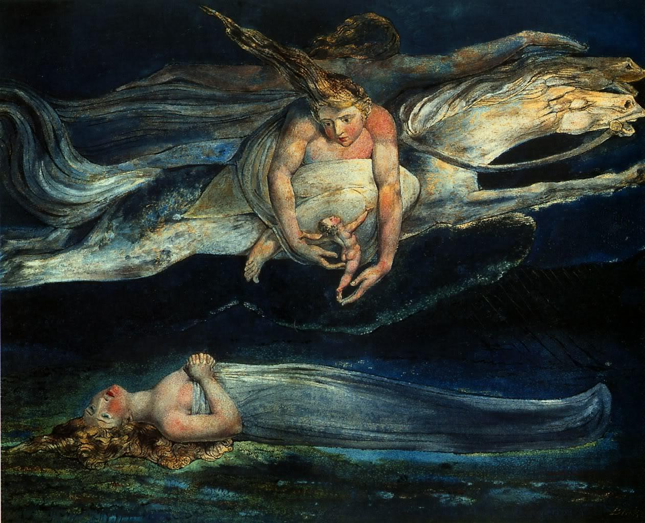 William Blake, ingiliz şair, ressam (ÖY-1827) tarihte bugün
