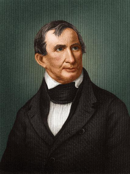 William Henry Harrison, ABD 8. Başkanı (ÖY-1841) tarihte bugün