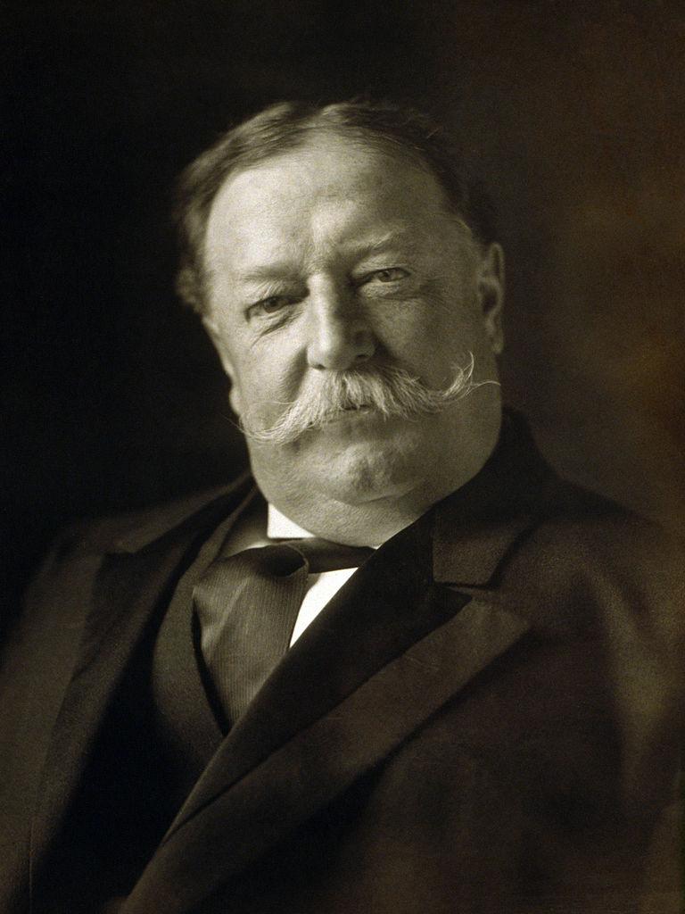William Howard Taft, ABD nin 27. başkanı (ÖY-1930) tarihte bugün