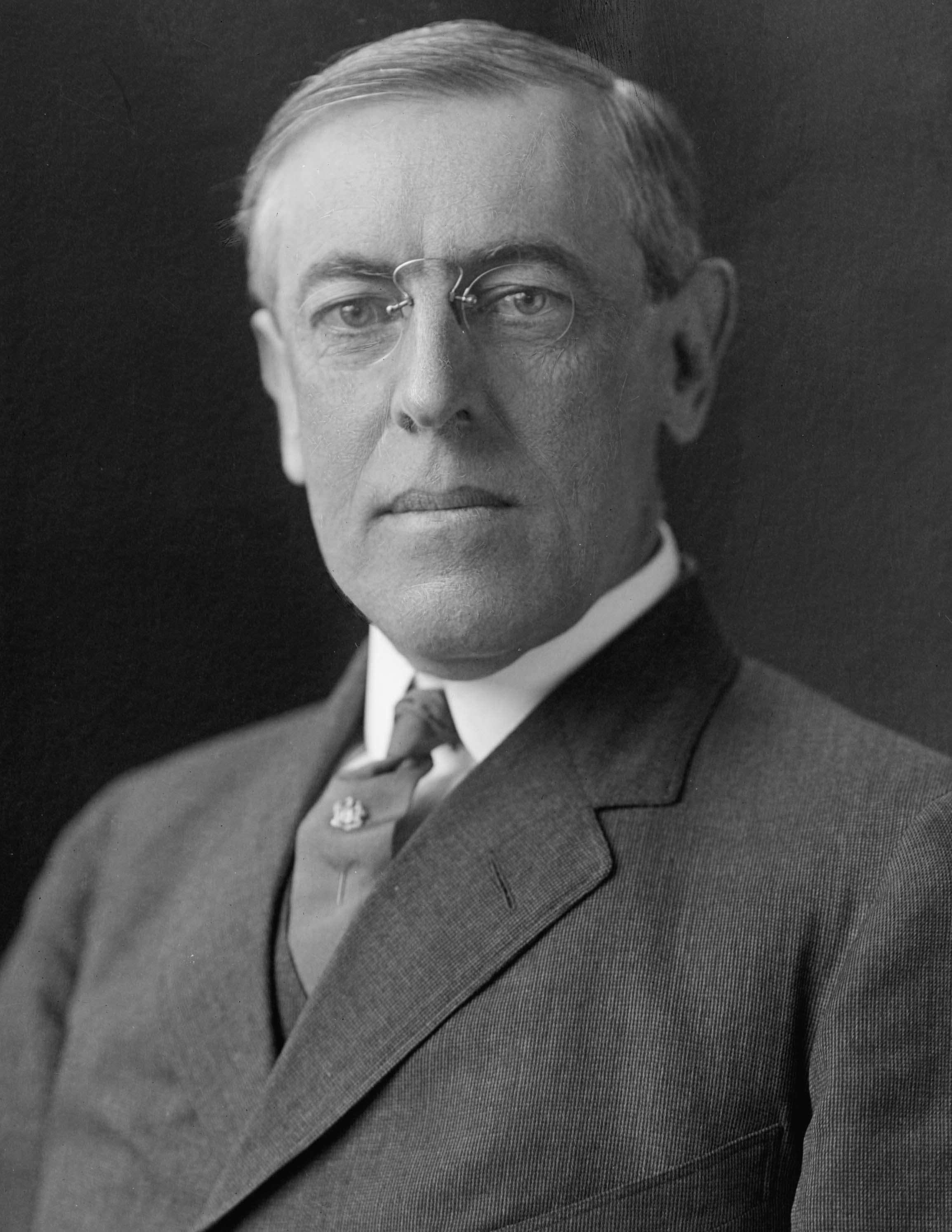 Woodrow Wilson, ABD 28. başkanı (DY-1856) tarihte bugün