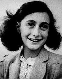 Yahudi kız Anne Frank doğumu