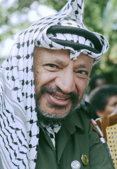 Yaser Arafat, Filistinli devlet adamı (ÖY-2004) tarihte bugün