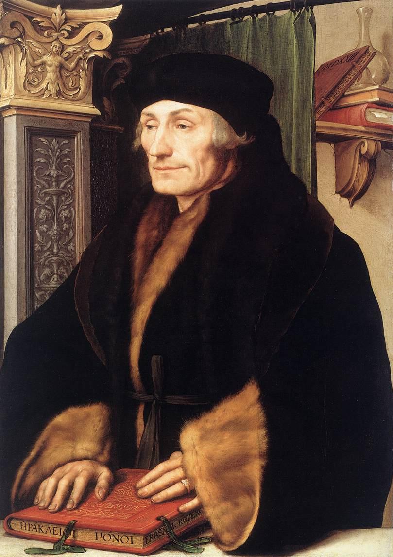 Desiderius Erasmus, Hollandalı yazardır (DY-1466) tarihte bugün