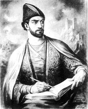 Vaja Pşavela, yazar ve şair (DY-1861) tarihte bugün