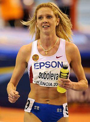 Yelena Soboleva, sporcu, Rus atlet tarihte bugün
