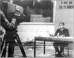 Türkiye Radyo ve Televizyon Kurumu (TRT) spikerlerinden Zafer Cilasun. tarihte bugün