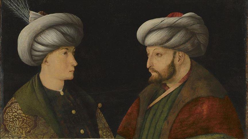 Fatih Sultan Mehmetin portresini İBB satın aldı